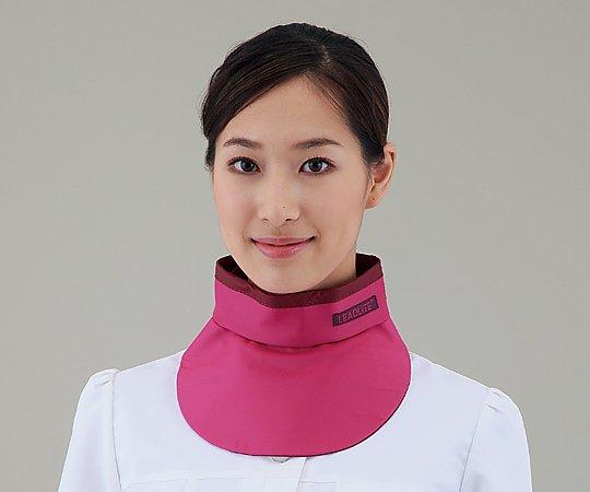 X線防護衣カラー KNECK-LE035P ピンク 1枚【条件付返品可】