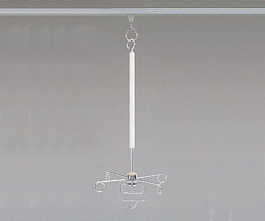スライドハンガー ハンドル式ロング 1個【条件付返品可】