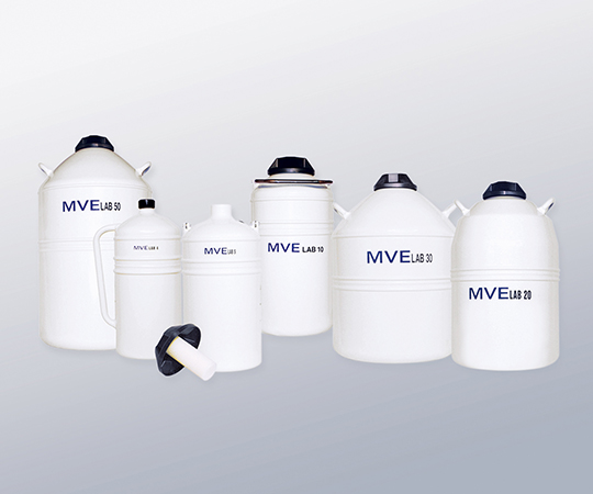 液体窒素保存容器 LABシリーズ 10L 0.18L/日 MVE-10740281 1個【返品不可】