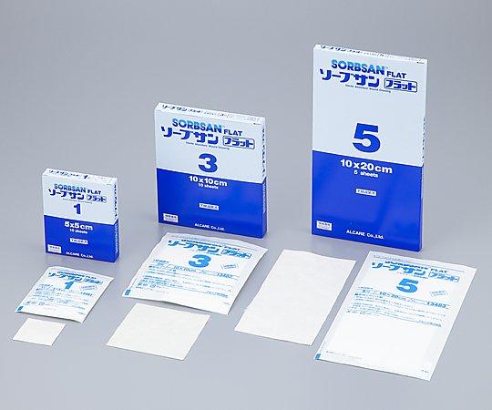 ソーブサン フラット 5号 13483 1箱(5枚入り)アルケア【条件付返品可】