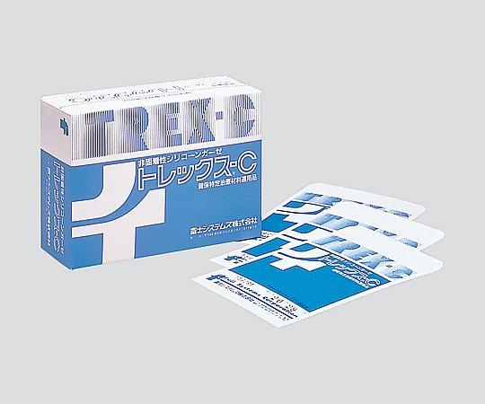 非固着性シリコンガーゼ(トレックスC) 50x70mm 0171110 1箱(100枚入り)【条件付返品可】