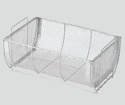 全自動高圧蒸気滅菌器(ステリウィット)用 金網バスケット SS-OB1 1個【返品不可】