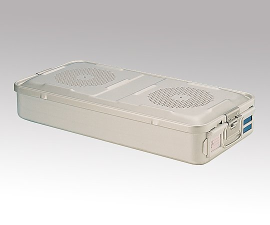 滅菌コンテナー L PTFEフィルタータイプ 580x280x100mm PTFE-10-L 1台【返品不可】