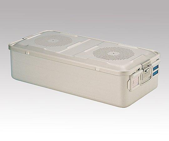 滅菌コンテナー L PTFEフィルタータイプ 580x280x150mm PTFE-15-L 1台【返品不可】