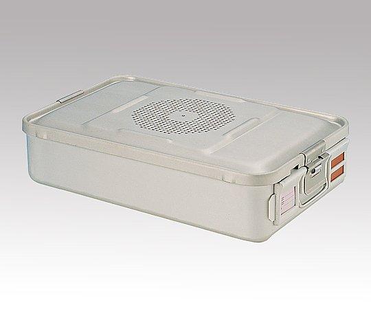 滅菌コンテナー M PTFEフィルタータイプ 465x280x100mm PTFE-10-M 1台【条件付返品可】