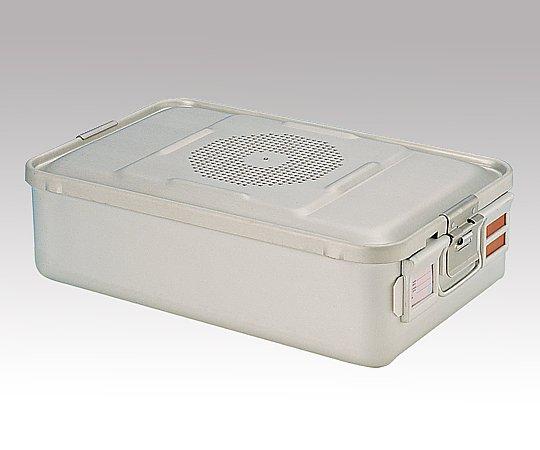 滅菌コンテナー M PTFEフィルタータイプ 465x280x135mm PTFE-13-M 1台【条件付返品可】