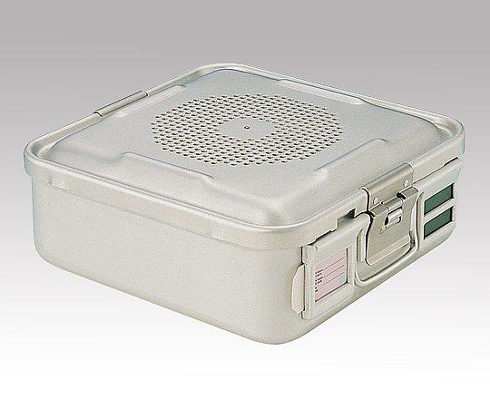 滅菌コンテナー S PTFEフィルタータイプ 285x280x100mm PTFE-10-S 1台【条件付返品可】