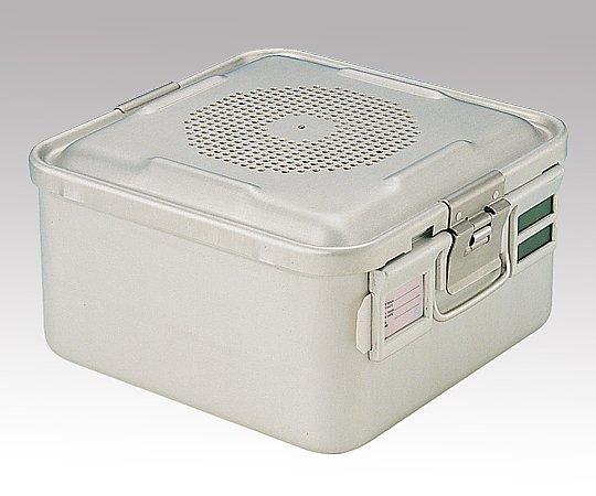 滅菌コンテナー S PTFEフィルタータイプ 285x280x150mm PTFE-15-S 1台【条件付返品可】