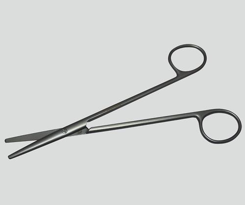 メッツェンバーム剪刀(チタン製) 直 160mm TN-0251366 1本【条件付返品可】