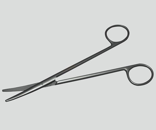 メッツェンバーム剪刀(チタン製) 曲 160mm TN-0251369 1本【返品不可】