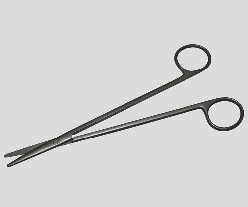 メッツェンバーム剪刀(チタン製) 直 180mm TN-0260372 1本【条件付返品可】