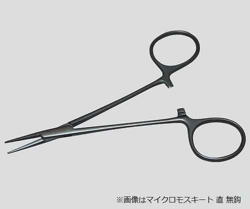 止血鉗子(チタン製) マイクロモスキート・直・無鈎 TN-0530802D 1本【条件付返品可】