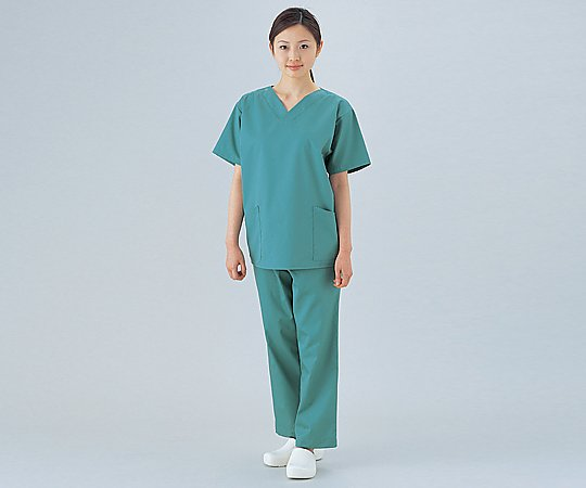 手術衣(女子スラックス) バーガンディ M NR8623 1着【返品不可】:MeReCare-y(メリケア)店
