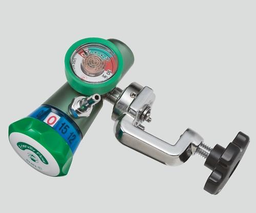 フレンドリーフロー(ボンベ用ダイヤル式酸素流量計) 減圧弁(ヨーク式) FF-Y15 1個【条件付返品可】