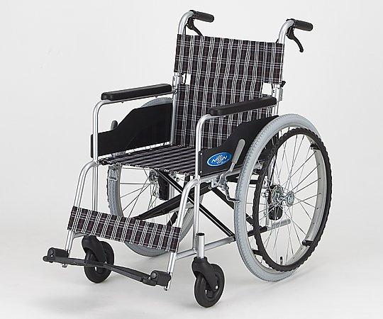 車椅子 (自走式/アルミ製/背折れタイプ/エアータイヤ) NC-1CB 1台 【大型商品】【同梱不可】【代引不可】【返品不可】