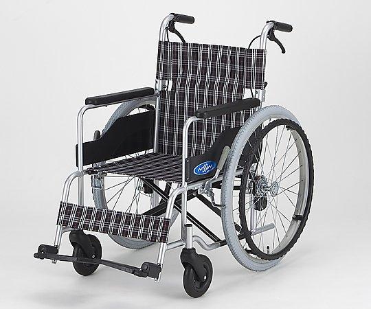 車椅子 (自走式/アルミ製/背折れタイプ/低床・エアータイヤ) NC-1CB 1台 【大型商品】【同梱不可】【代引不可】【キャンセル・返品不可】