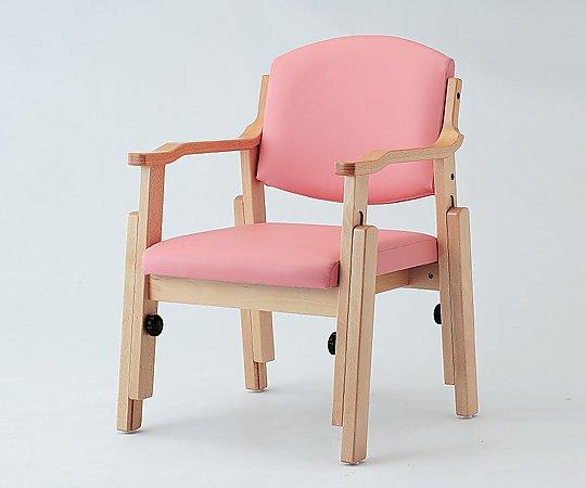 椅子 (アジャスト) ピンク AJS-150-V ピンク 1脚【条件付返品可】