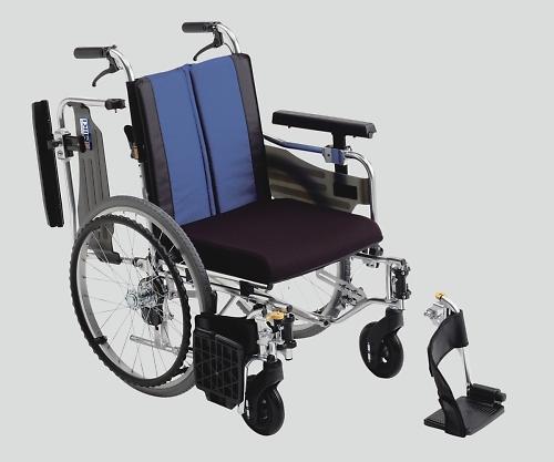 ウイングスイングアウト車椅子(アルミ製) 自走式 BAL-9 1個 【大型商品】【同梱不可】【代引不可】【キャンセル・返品不可】