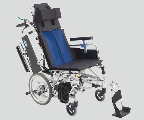 ティルト&リクライニング車椅子(アルミ製) 介助式 BAL-12 1個 【大型商品】【同梱不可】【代引不可】【キャンセル・返品不可】