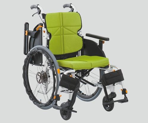 車椅子(ネクストコア・アジャスト) ライトグリーン NEXT-51BA F3 1個 【大型商品】【同梱不可】【代引不可】【返品不可】