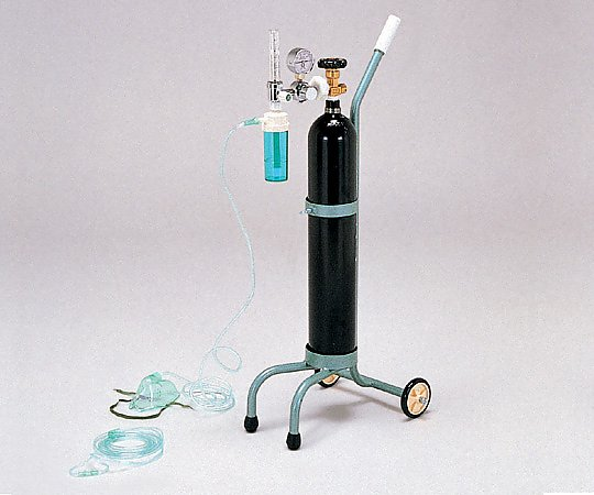 キャリー型酸素吸入器 一式 OX-500V 1式【条件付返品可】