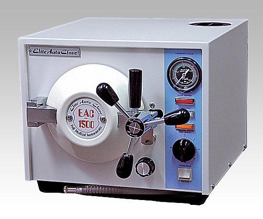 超小型卓上型高圧滅菌器 340x460x290mm EAC-1500 1台【キャンセル・返品不可】