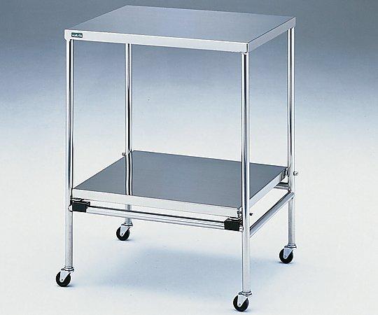 器械卓子(重ね収納型) 650x500x846mm NSW-W 1台 【大型商品】【同梱不可】【代引不可】【キャンセル・返品不可】