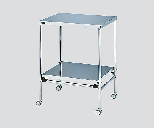 器械卓子(重ね収納型) 600x400x796mm NSW-N 1台 【大型商品】【同梱不可】【代引不可】【キャンセル・返品不可】