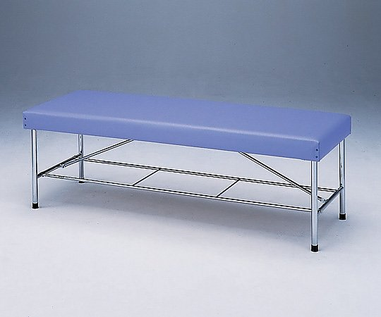 カラー診察台 650型1960B ブルー 1台 【大型商品】【同梱不可】【代引不可】【キャンセル・返品不可】