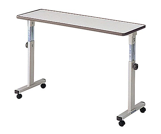 オーバーテーブル (ホワイト/1200x400x650~1000mm) PT-5100 1台 【大型商品】【同梱不可】【代引不可】【返品不可】