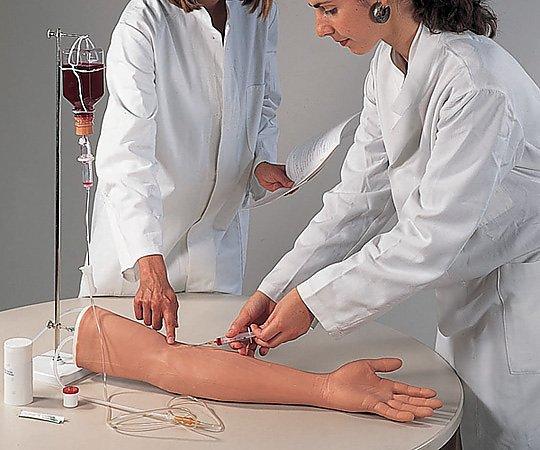 腕部注射用トレーニング用モデル XP106 皮膚(腕~手部) 1個【条件付返品可】