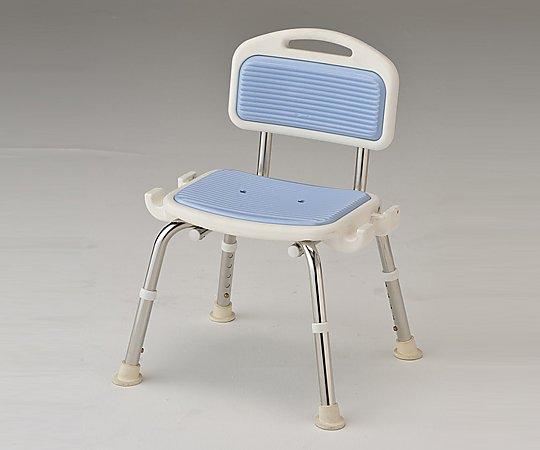 業務用シャワー椅子 (肘無し/ブルー) 1脚【返品不可】
