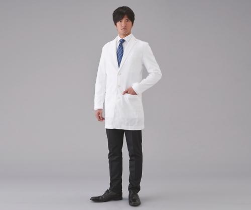 プロフェッショナル白衣(男性用) LL H.W.CUSHING 42 1枚【返品不可】