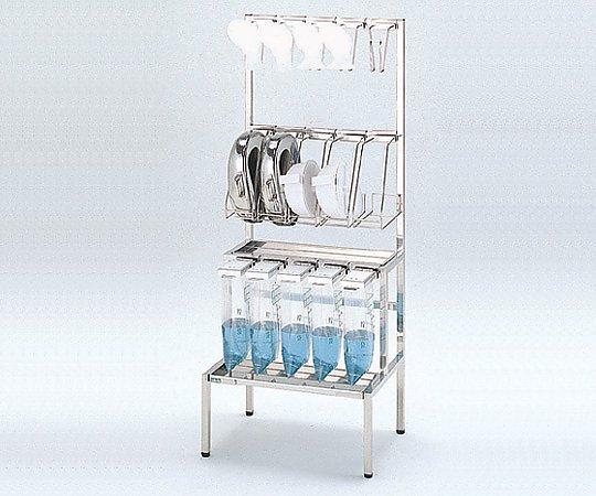 貯尿便尿器掛台 II(本体) ステンレス 1台【キャンセル・返品不可】