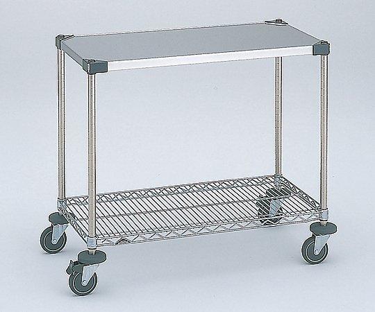 ワーキングテーブル1型 1213x461x815mm φ100 NWT1C-S 1台 【大型商品】【同梱不可】【代引不可】【キャンセル・返品不可】
