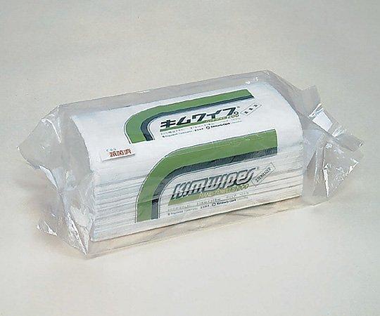 キムワイプ・ハンドタオル200 2枚重ね 電子線滅菌済 230x218mm 64002 1箱(400枚x25袋入り)【条件付返品可】