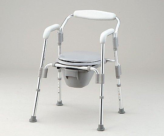 コモド椅子(折りたたみ式) 610x590x740~840mm HT2100 1台【条件付返品可】