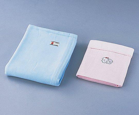 防炎綿毛布 (1400x2000mm/サックス) 1枚【条件付返品可】