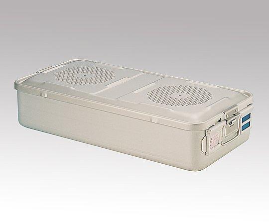 滅菌コンテナー L ディスポ紙フィルタータイプ 580x280x135mm F110-13-SL 1台【返品不可】