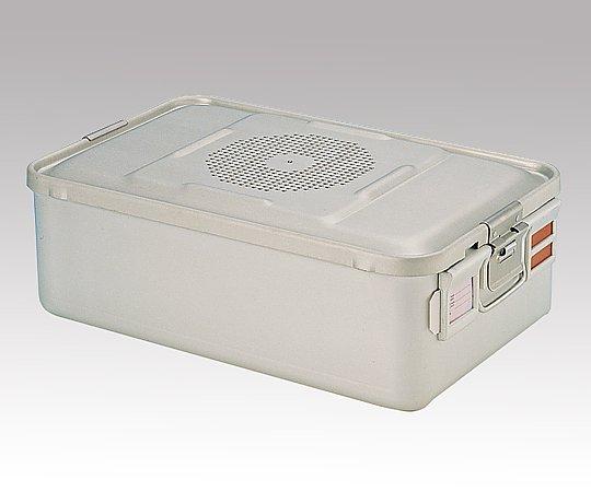 滅菌コンテナー M ディスポ紙フィルタータイプ 465x280x150mm F210-15-SL 1台【条件付返品可】