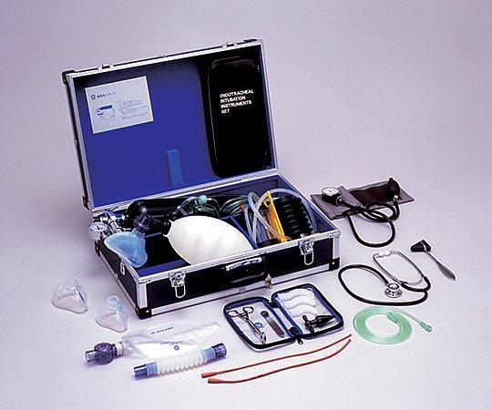 酸素吸入救急蘇生ケース[医師挿管用] ACRW-ED-OX-FP 成人用 1式【条件付返品可】