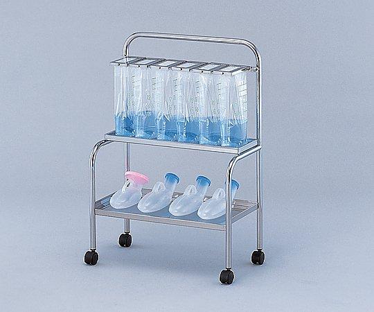 貯尿架台[尿器用棚付] KNT-10 10人用 1台【大型商品】【後払不可】【同梱不可】【返品不可】