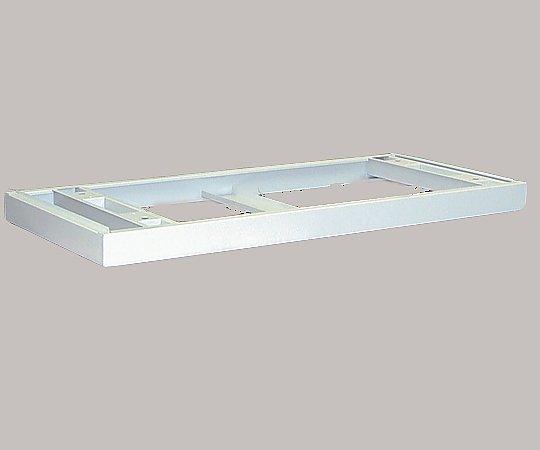 スライドシャッター付ラック専用ベース 1000x450x60mm TDS-1000B(専用ベース) 1個【条件付返品可】