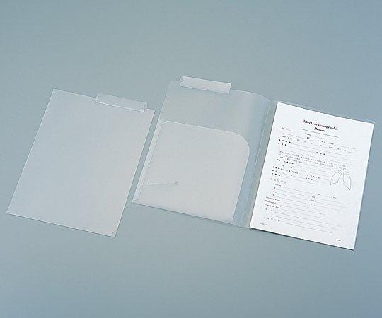 カルテフォルダー ダブル KHW-50 1箱(50枚x4袋入り)【条件付返品可】