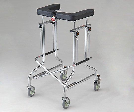 歩行補助器 (アルコー1S/1G・折りたたみ式) 1S-T型 /抵抗器付 1台 【大型商品】【同梱不可】【代引不可】【キャンセル・返品不可】
