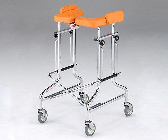 歩行補助器 (アルコー1S/1G・折りたたみ式) 1G型 1台 【大型商品】【同梱不可】【代引不可】【キャンセル・返品不可】
