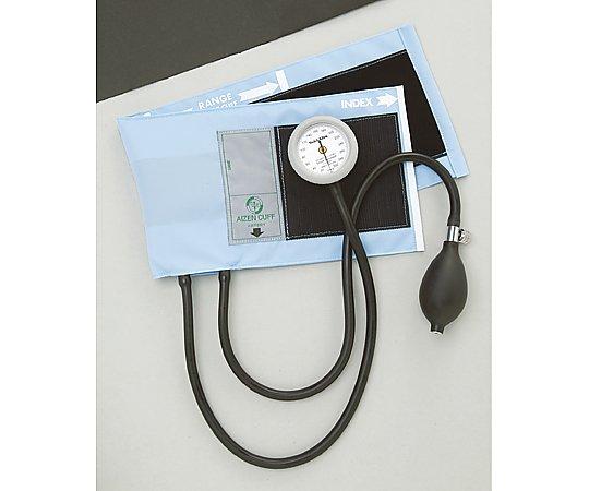 ギヤフリーアネロイド血圧計 ブルー 1個【条件付返品可】