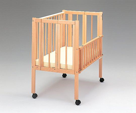 保育用ベッド[ワンタッチナーサリー] ベッド(マット付き) 56363 1台【条件付返品可】