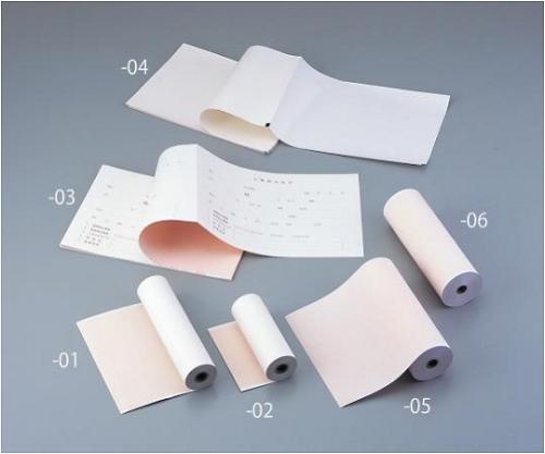 心電計用紙 FQW210-10-295K 1箱(5冊入り)【条件付返品可】