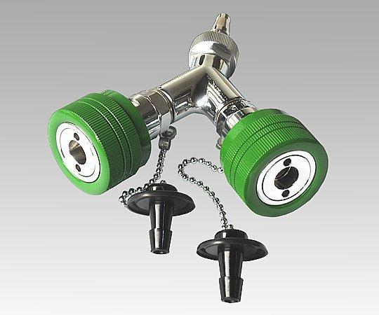 二又タイプアウトレット 酸素 シュレーダー式 (アムコ型) 1個【返品不可】